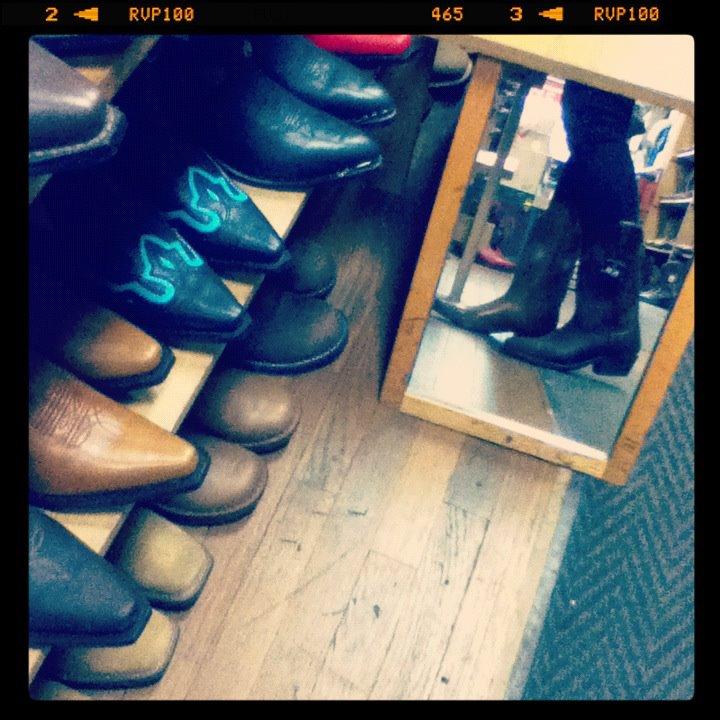 Mis botas están hechas para caminar